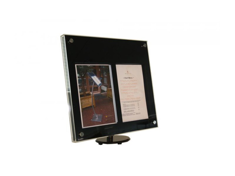 achat porte menus ext rieur restaurant et support menu mural. Black Bedroom Furniture Sets. Home Design Ideas