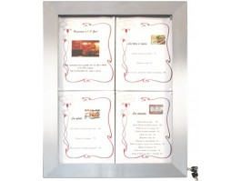 Porte menu LED 16 couleurs