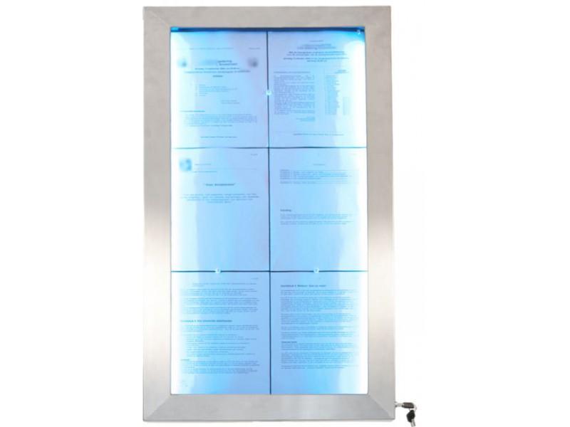 Achat porte menus restaurant et ext rieur 16 couleurs et for Porte menu exterieur pour restaurant