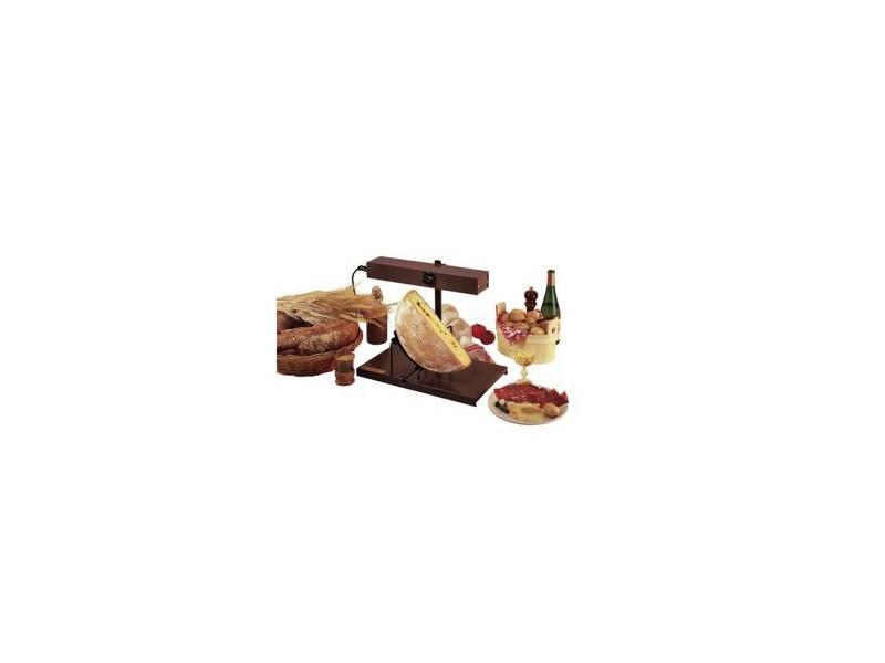 Achat appareil raclette traditionnelle bron coucke - Appareil a raclette demi meule ...