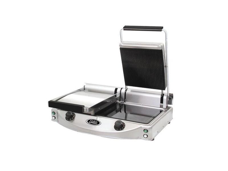 grill panini professionnel double de la marque unox. Black Bedroom Furniture Sets. Home Design Ideas