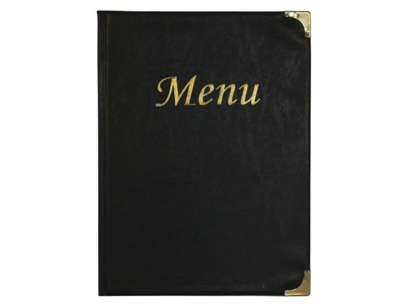prot ge menu de restaurant a4 pvc. Black Bedroom Furniture Sets. Home Design Ideas