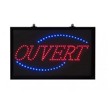 Tableau lumineux Ouvert