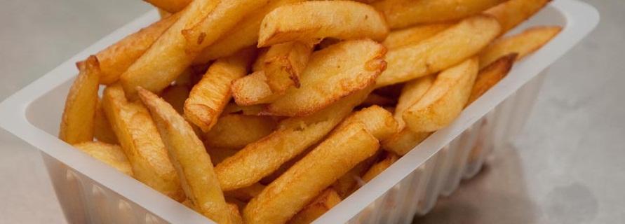 Une barquette de frites